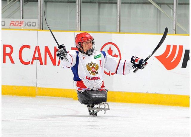 Паралимпийские виды спорта. Следж-хоккей.