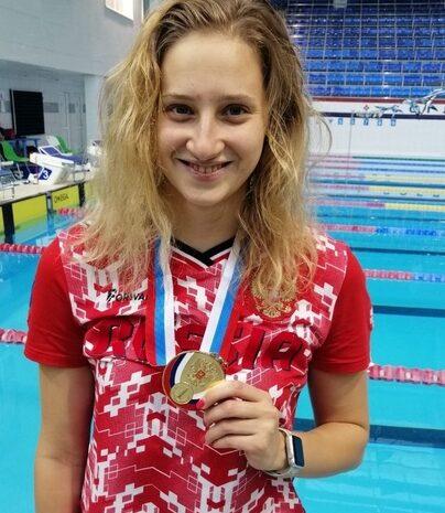 Валерия Шабалина завоевала золотую медаль!!!