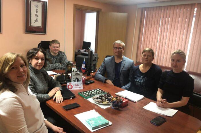 Рабочая встреча в ОБУ РЦСП ЧО с представителями Регионального отделения ВОРДИ и представителей спорта ЛИН.